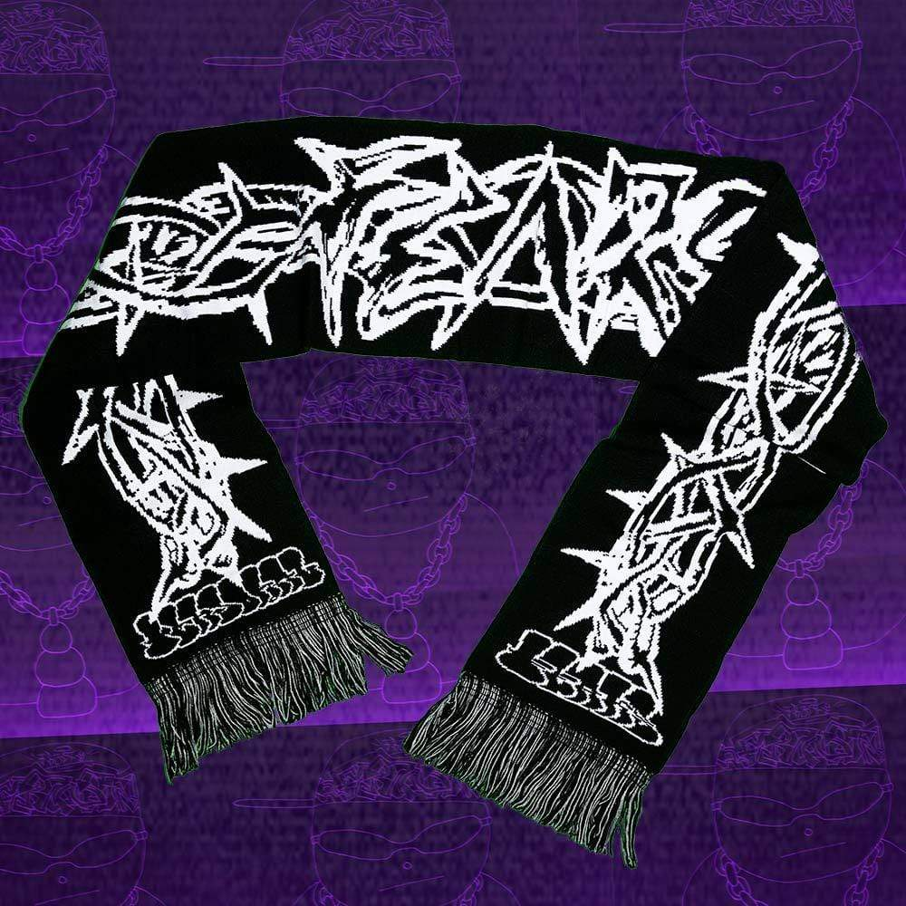 Personal Fears scarf Crown of Thorns Scarf Stainless Steel Jewelry
