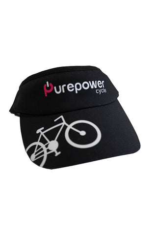 Visor Black Bike
