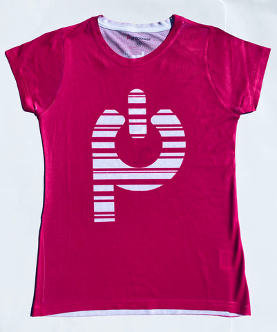 T-Shirt PurePower Women Magenta