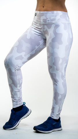 🚲 PurePower Cycle | White Camo Bikes Leggings | Best price 2021