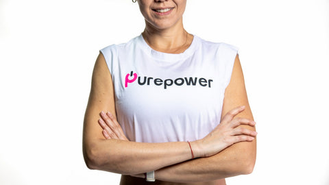 🚲 PurePower Cycle | Women's White Tank Top | Best price 2021