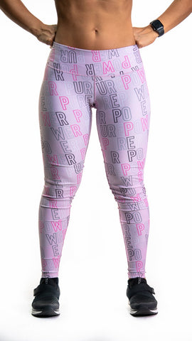 🚲 PurePower Cycle | Letters Pink Leggings | Best price 2021