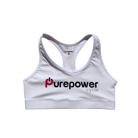 Purepower Sports Bra WHITE