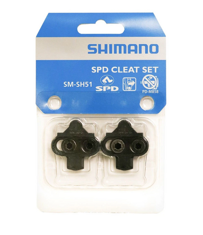 Shimano SPD Cleat Set - Black