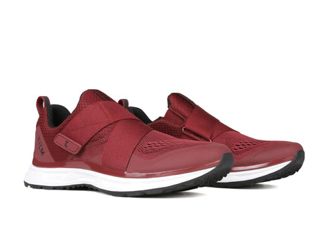 TIEM SLIPSTREAM - MERLOT INDOOR AND OUTDOOR CYCLING SHOES