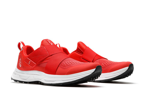TIEM SLIPSTREAM - SOLAR RED INDOOR AND OUTDOOR CYCLING SHOES