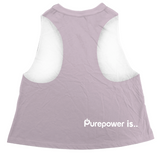 🚲 PurePower Cycle | Women's Pink Crop Top | Best price 2021