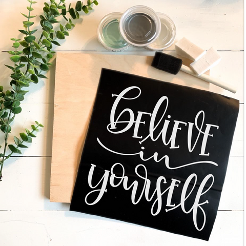 Diy Kit-Believe In Yourself