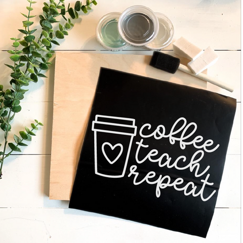 Diy Kit- Coffee Teach Repeat