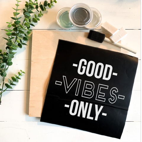 Diy Kit-Good Vibes Only