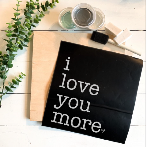 Diy Kit-I Love You More