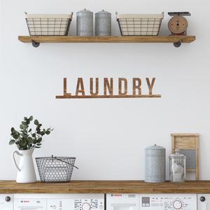 Laundry 3D cut out