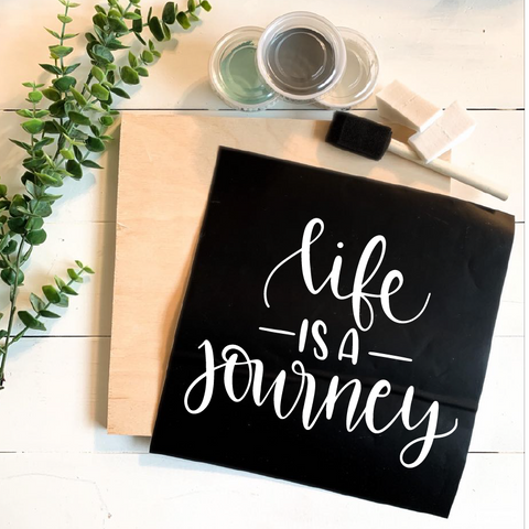 Diy Kit-Life is a Journey