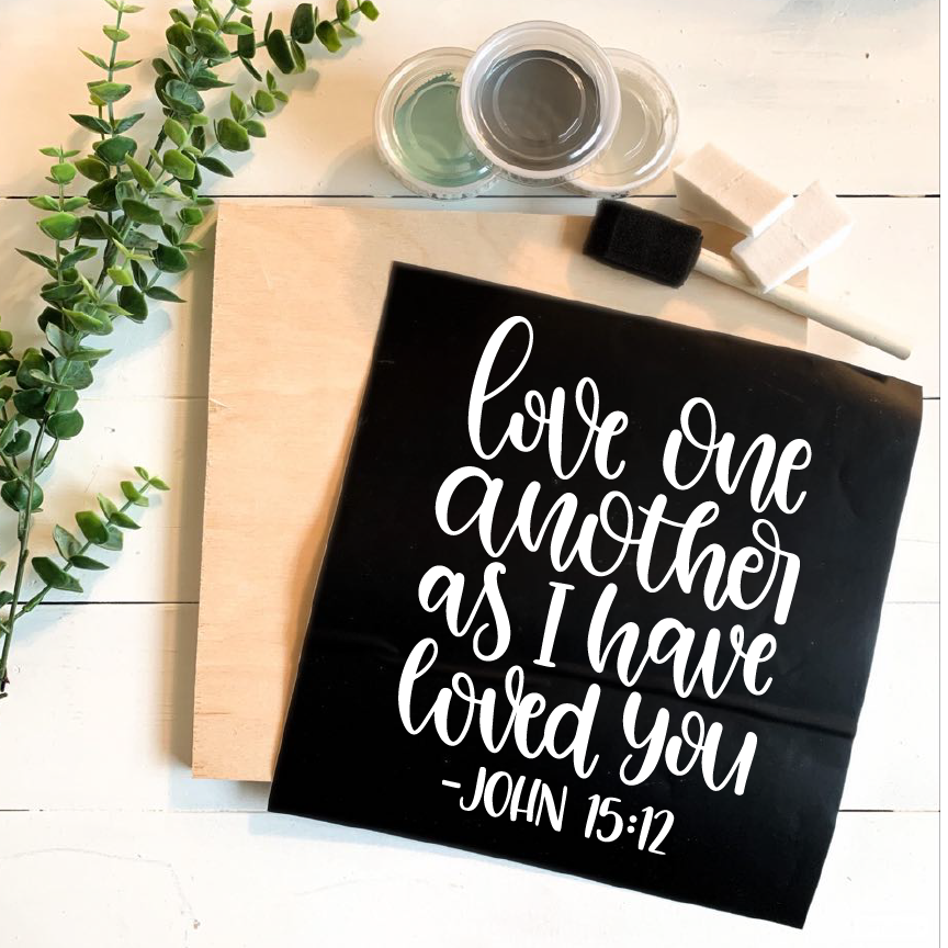 Diy Kit-Love One Another