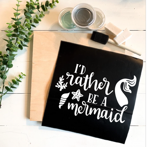 Diy Kit-I'd Rather Be a Mermaid