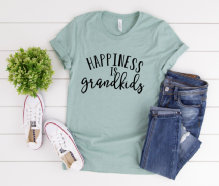 DIY Shirt Box- Happiness is grandkids
