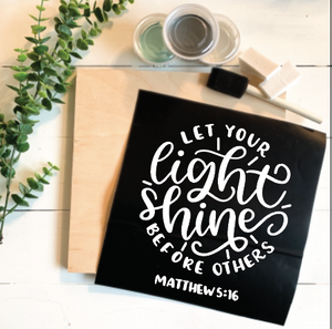 Diy Kit-Let your light shine