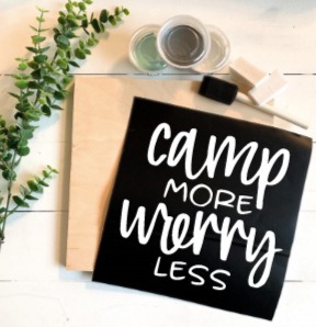 Diy Kit- Camp more, worry less