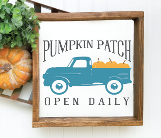 Pumpkin Patch Truck