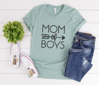 DIY Shirt Box-Mom of Boys
