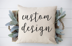 Custom Pillow