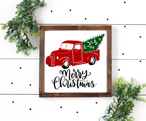 Diy Kit- Merry Christmas Truck