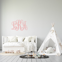 Monogram 3D cut out