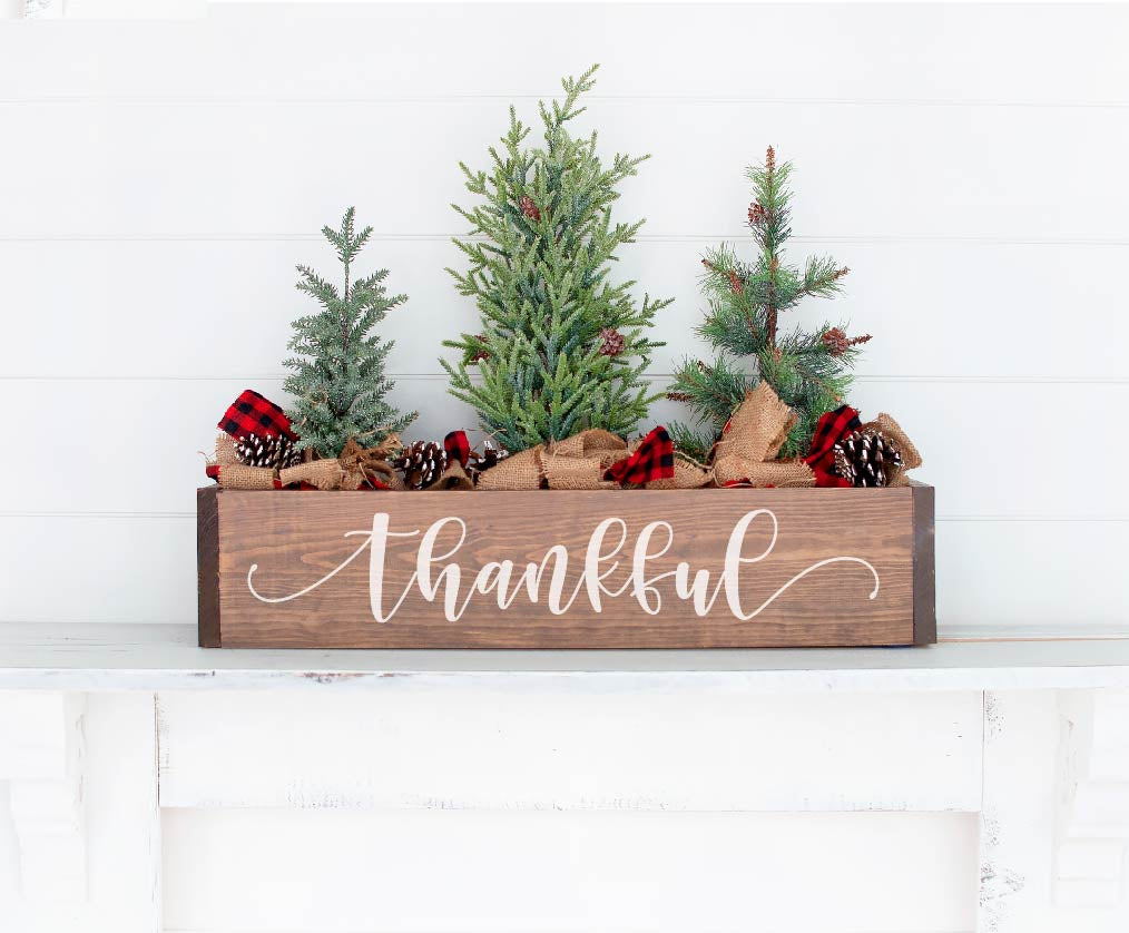 Thankful Centerpiece Box