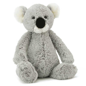 Grey and White Koala stuffed toy
