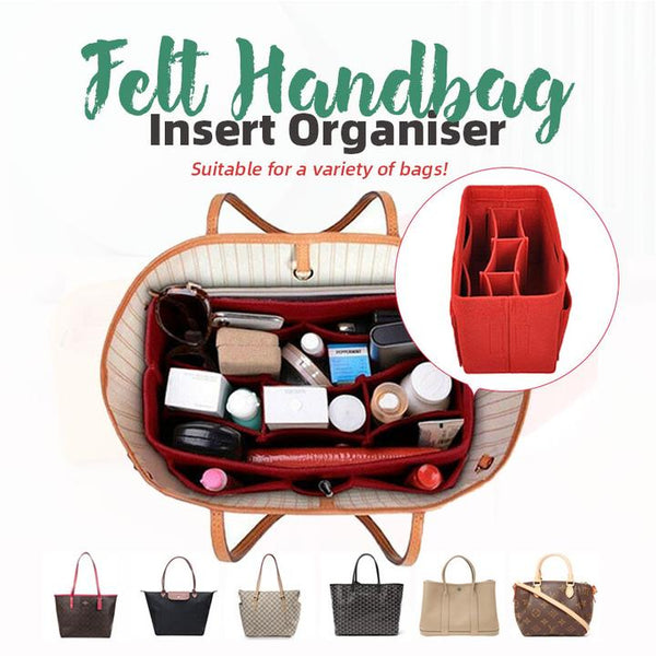 The Felt Handbag Insert Organiser™