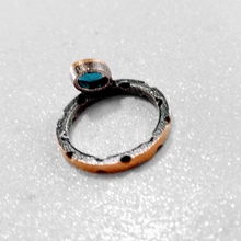 Load image into Gallery viewer, London Blue Topaz and 22 Karat Gold