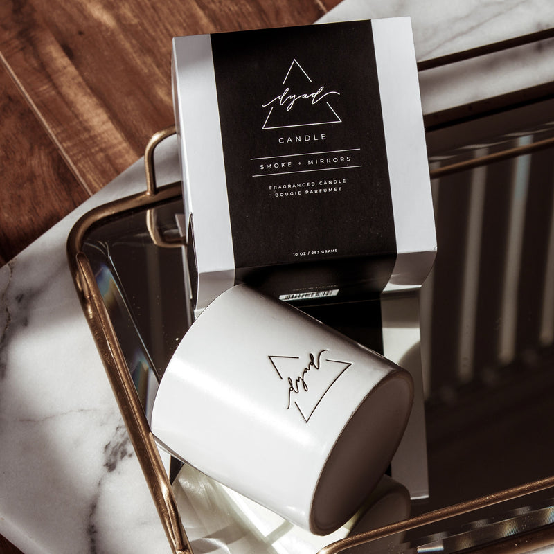 Smoke + Mirrors - Dyad Candle | Luxury Ceramic Candles | Hand Poured in Los Angeles