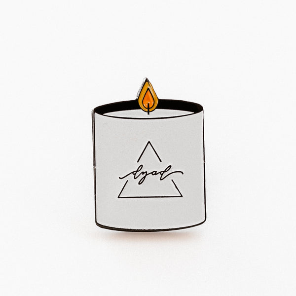 Dyad Candle Enamel Pin