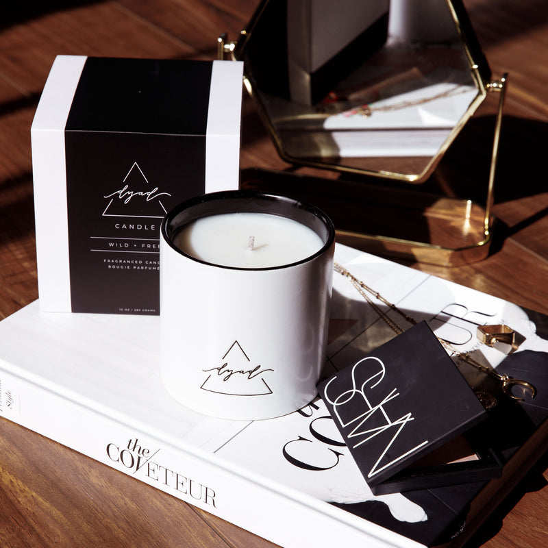 Wild + Free - Dyad Candle | Luxury Ceramic Candles | Hand Poured in Los Angeles