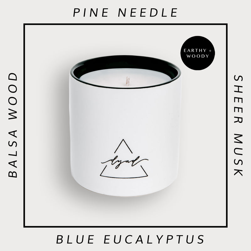 Pins + Needles - Dyad Candle | Luxury Ceramic Candles | Hand Poured in Los Angeles