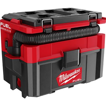 Milwaukee 0970-20 M18 Fuel Packout 2.5 Gallon Wet/Dry Vacuum (Tool Only) Image 1