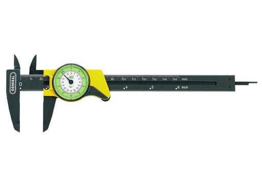 General 142 Plastic, Direct Reading Inch Dial Caliper