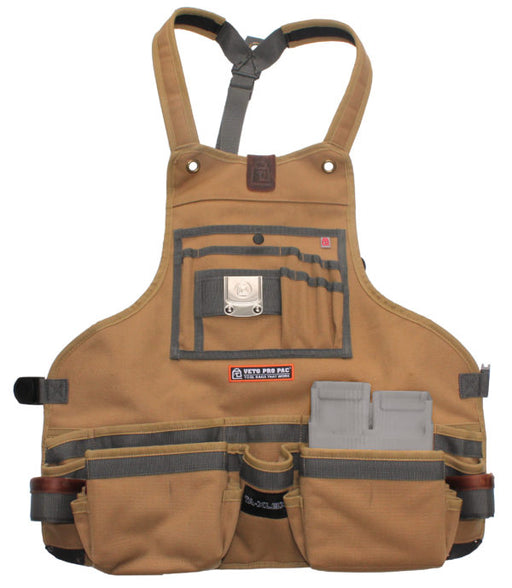 Veto Pro Pac TA-XLBX Tool Apron With Boxed Pockets - Image 1