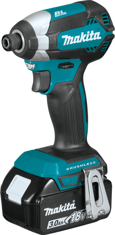 Makita XDT131 18V LXT Lithium‑Ion Brushless Cordless Impact Driver Kit Image 2