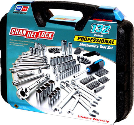 Channellock 39067 132 Pc Mechanic's Tool Set