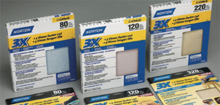 Norton 3X Abrasive Sheets