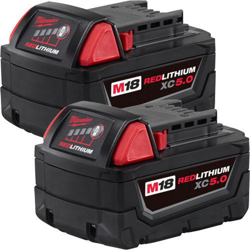 Milwaukee 48-11-1852 M18 Battery 2-Pack