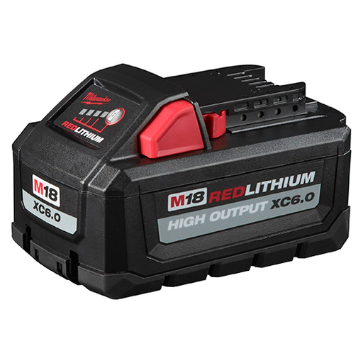 Milwaukee 48-11-1865 M18 Redlithium High Output XC6.0 Battery