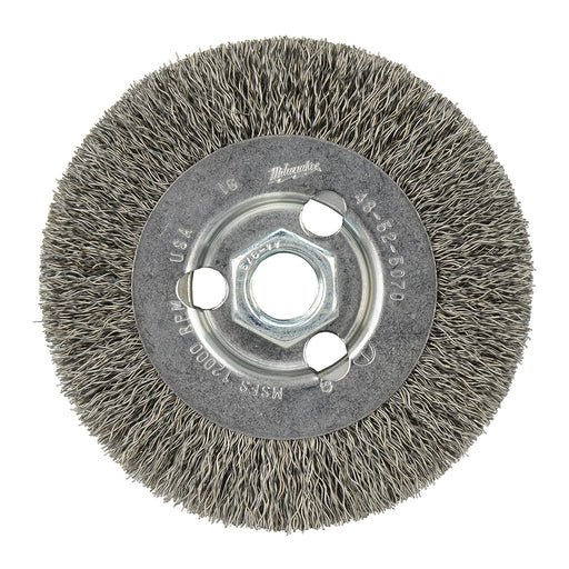 "Milwaukee 48-52-5070 4"" Radial Crimped Wire Wheel Brush"