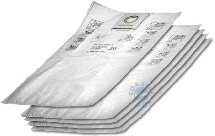 Festool 496186 Self-Cleaning Filter Bags