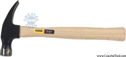 Stanley 51-716 16 oz Rip Claw Wood Handle Nail Hammer