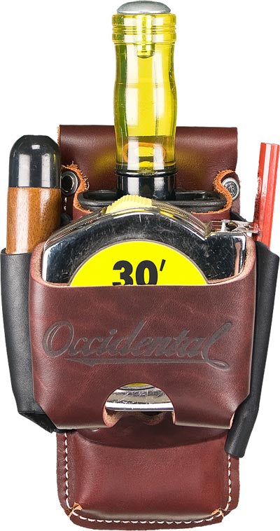 Occidental Leather 5523 Clip-On 4 in 1 Tool/Tape Holder
