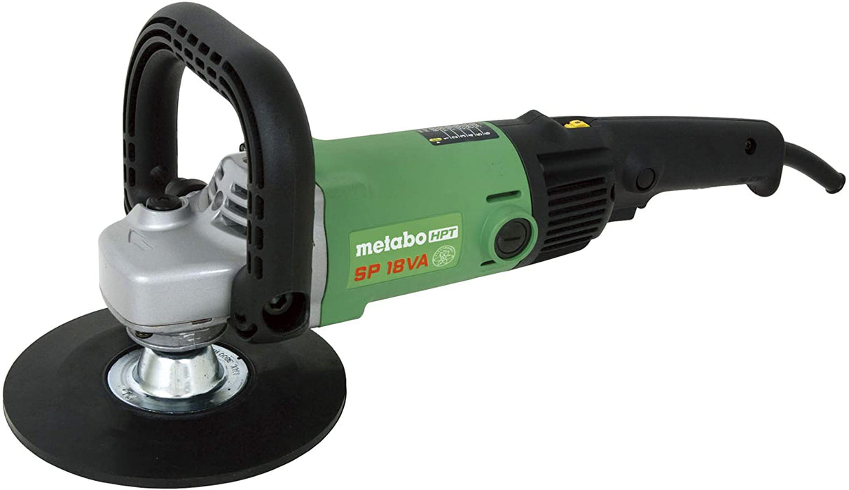 "Metabo HPT SP18VA 7"" Disc EVS Polisher & Light Sander"