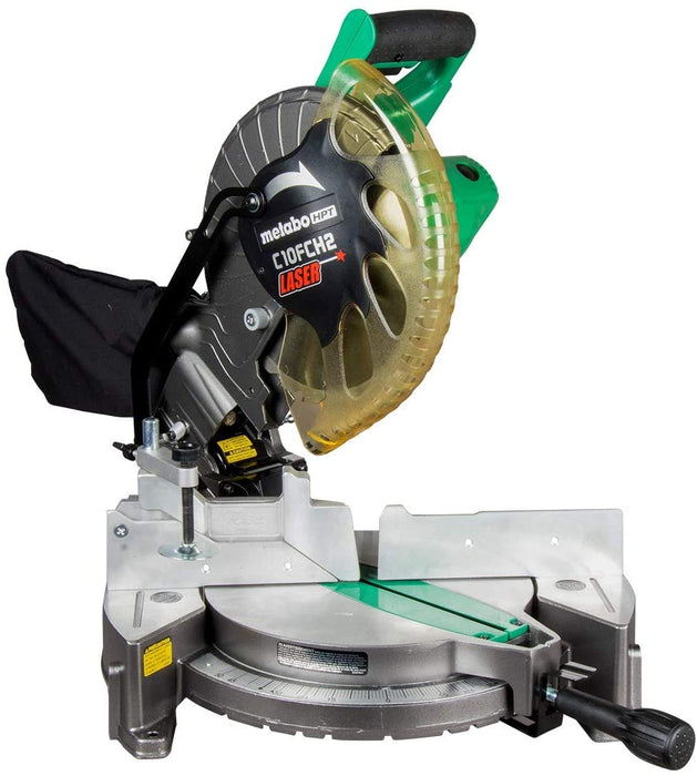 "Metabo HPT C10FCH2 10"" Compound Miter Saw"