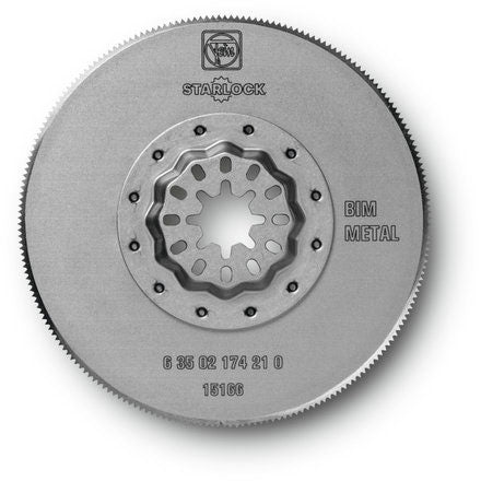 "Fein MultiMaster 3-11/32"" Recessed HSS Saw Blade 1 Pack"